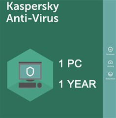 لایسنس Kaspersky Anti-Virus 2018-1 PC