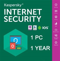لایسنس Kaspersky Internet Security  Multi-Device 2019-1 PC