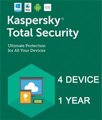 لایسنس Kaspersky Total Security  Multi-4 Device -2018