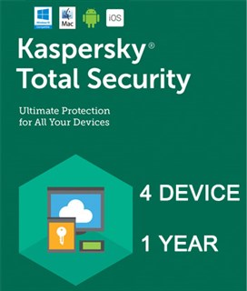 لایسنس Kaspersky Total Security  Multi-4 Device -2019