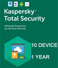 لایسنس Kaspersky Total Security  Multi-10 Device -2018