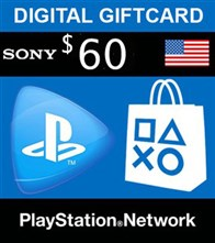 PSN امريكا 60 دلاري PlayStation Network