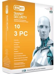 لایسنس Eset Smart Security 10 /  3 PC
