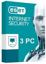 لایسنس نسخه RETAIL - Eset Internet Security 10  /  3 PC