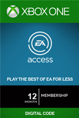 اشتراک 12 ماهه EA Access Subscription Xbox One Digital Code
