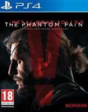 بازی MGS PHANTOM PAIN PS4 ريجن all