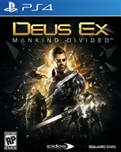 بازی Deus Ex Mankind Divided  برای PS4