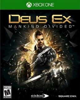 بازی Deus Ex Mankind Divided  برای XBOX ONE