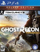 نسخه DELUXE بازی Tom Clancy's Ghost Recon Wildlands برای PS4