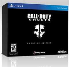 نسخه كالكتور Call of Duty: Ghosts Prestige Edition
