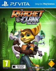بازی The Ratchet  Clank Trilogy برای PS VITA