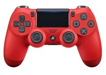 دسته بازی PS4 رنگ قرمزاسلیم DualShock 4 Controller Red Wireless