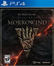 بازی The Elder Scrolls Online Morrowind برای PS4