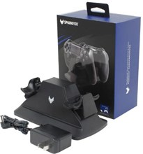 شارژر دوبل دسته  Black PS4 Dual Charging Station SparkFox