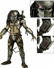 اکشن فیگور وارداتی Predator 1/4 Scale Action Figure with Led Lights Neca