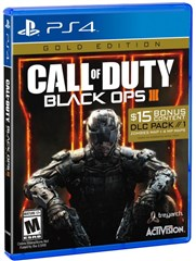 بازی CALL OF DUTY BLACK OPS 3 GOLD EDITION برای PS4