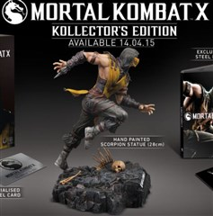 نسخه کالکتور Mortal Kombat X Kollectors Edition