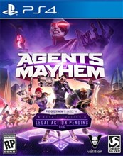 بازیAgents of Mayhem برای PS4