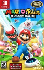 بازي Mario Rabbids Kingdom Battle براي  Nintendo Switch