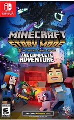 بازی Minecraft Story Mode The Complete Adventure برای Nintendo Switch