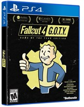 نسخه Goty -Game Of The Year بازی Fallout 4 برای Ps4