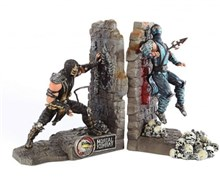 کالکتور ادیشن لیمیتدMortal Kombat 9 Bookends Scorpion Subzero