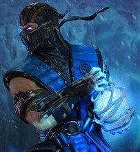 اکشن فیگور اورجینال Mortal Kombat Collectibles sideshow Sub-Zero