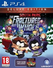 نسخه DELUXE بازي South Park The Fractured but Whole براي PS4