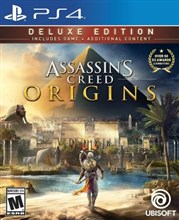 نسخه DELUXE بازی  Assassins Creed Origins  برای PS4