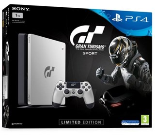 کنسول بازی Slim 1TB Limited Console Ps4 Gran Turismo Sport Bundle