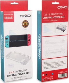 محافظ Nintendo Switch Case Screen Protector Joystick Kit