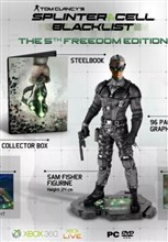 نسخه کالکتور splinter cell blacklist xbox 360 collector