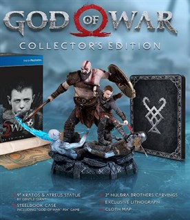 نسخه کالکتورز God of War Collectors Edition PlayStation 4 Sony