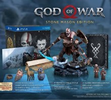 ریجن ALL  کالکتورز God of War Stone Mason PlayStation 4 Sony