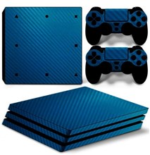 کاور اسکین PS4  - SKIN STICKER PS4 PRO CF BLUE