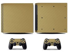 کاور اسکین PS4 - SKIN STICKER PS4 PRO  CF GOLD