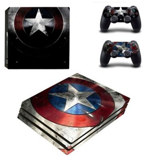 کاور اسکین PS4 - SKIN STICKER PS4 PRO CAPTAIN