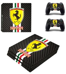 کاور اسکین PS4 - SKIN STICKER PS4 PRO FERRARI