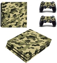کاور اسکین PS4 - SKIN STICKER PS4 PRO CAMOUFLAGE