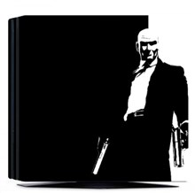 کاور اسکین PS4 - SKIN STICKER PS4 PRO HITMAN
