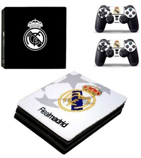 کاور اسکین PS4 - SKIN STICKER PS4 PRO REAL MADRID