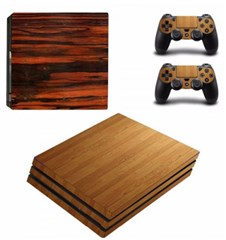 کاور اسکین PS4 - SKIN STICKER PS4 PRO WOOD