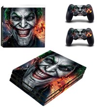 کاور اسکین PS4 - SKIN STICKER PS4 PRO JOKER