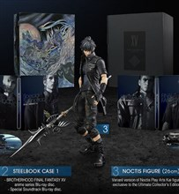 نسخه كالكتور ادیشن Final Fantasy XV Ultimate Collector