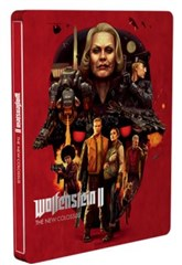 قاب فلزی استیل بازی Wolfenstein II The New Colossus Steel