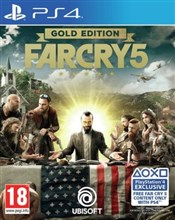 نسخه گلد ادیشن FARCRY 5 Gold Edition  برای PS4