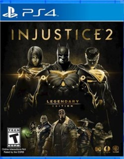 نسخه Legendary Edition بازی Injustice 2  برای PS4