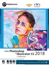 مجموعه   Adobe Photoshop  Illustrator CC 2018 Collection
