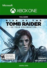 کد دانلود بازی Rise of the Tomb Raider 20 Year Celebration برای XBOX ONE