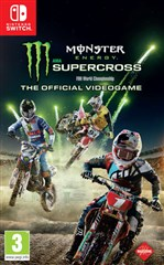 بازی MONSTER ENERGY SUPERCROSS برای NINTENDO SWITCH